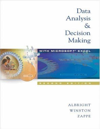 Download Data analysis & decision making with Microsoft Excel