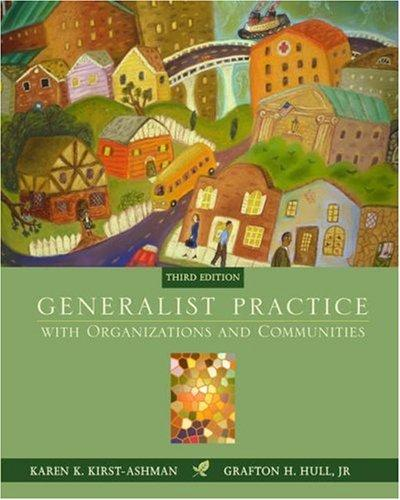 Download Generalist practice with organizations & communities