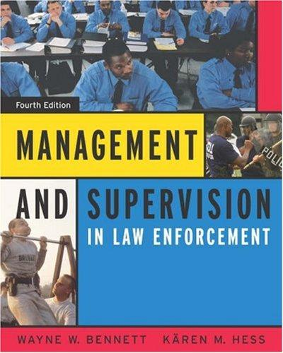 Download Management and supervision in law enforcement