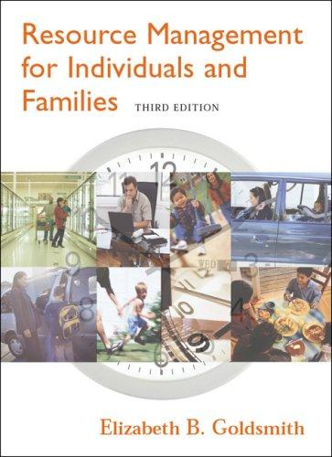 Download Resource management for individuals and families