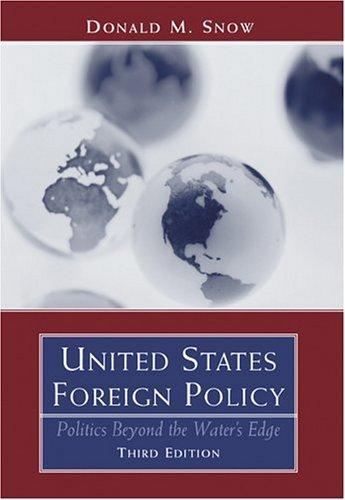 United States foreign policy