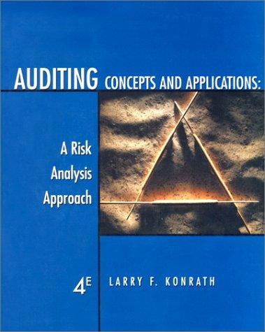 Download Auditing Concepts and Applications