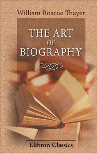 Download The Art of Biography