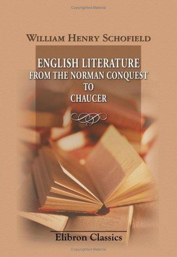 Download English Literature from the Norman Conquest to Chaucer