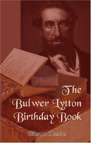 Download The Bulwer Lytton Birthday Book
