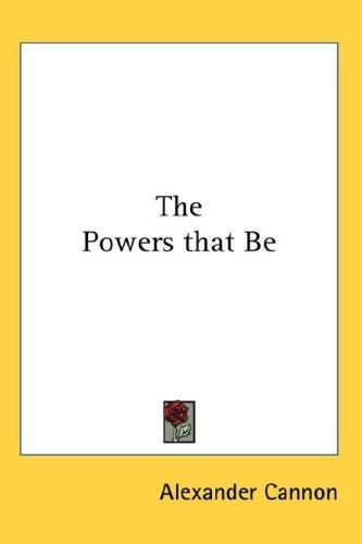 Download The Powers that Be