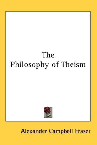 Download The Philosophy of Theism