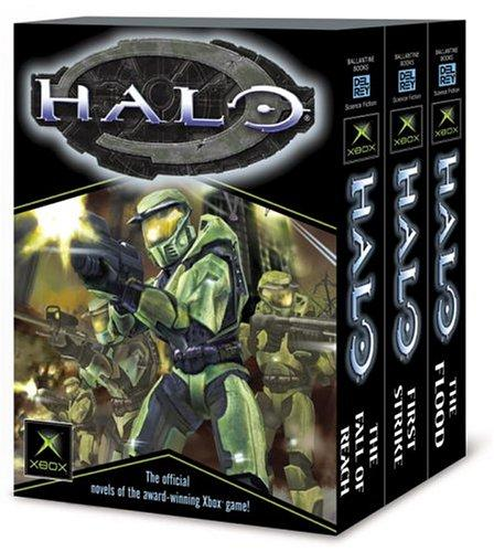 Image for Halo, Books 1-3 (The Flood; First Strike; The Fall of Reach)
