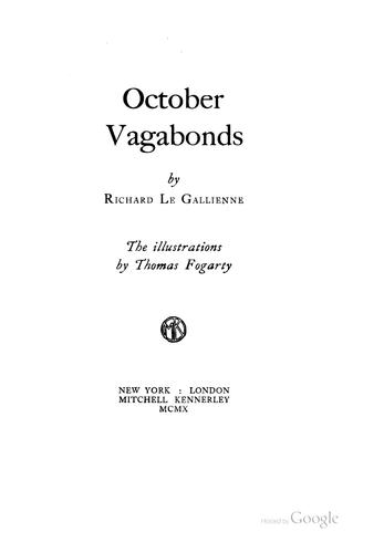 October vagabonds