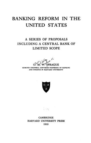 Download Banking reform in the United States