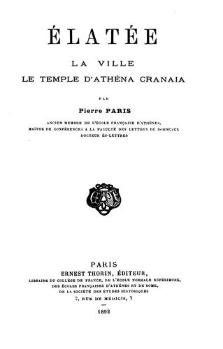 Download Élatée