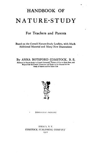 Download Handbook of nature-study for teachers and parents