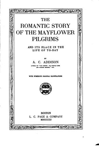 Download The romantic story of the Mayflower pilgrims