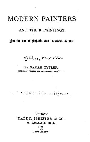 Download Modern painters and their paintings.