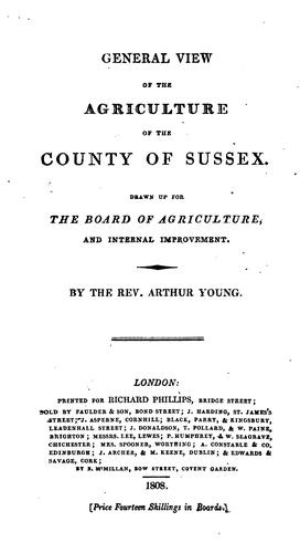 Download General view of the agriculture of the county of Sussex