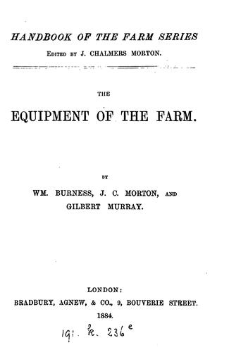The chemistry of the farm.