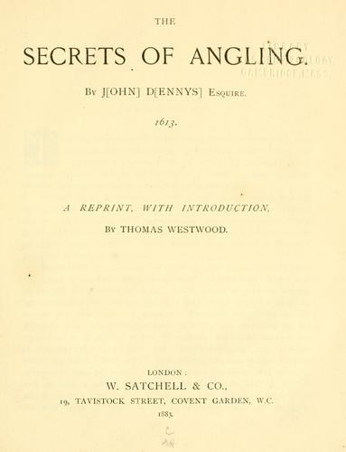 Download The secrets of angling.