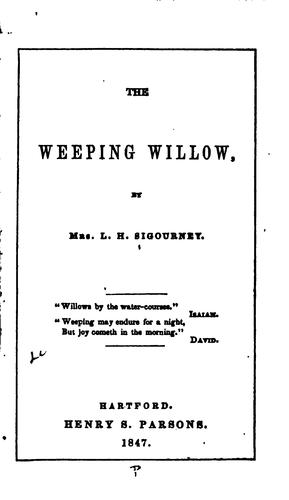 Download The weeping willow