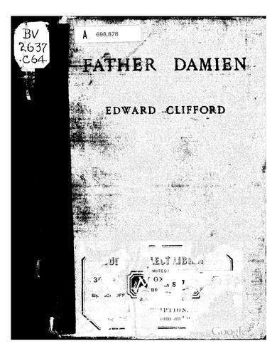 Father Damien by Clifford, Edward