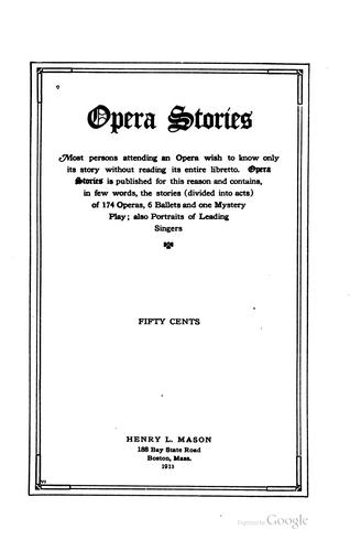 Download Opera stories