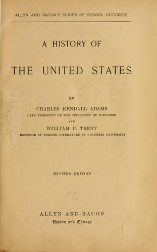 Download A history of the United States