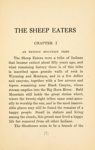 Download The Sheep Eaters