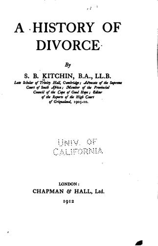 Download A history of divorce