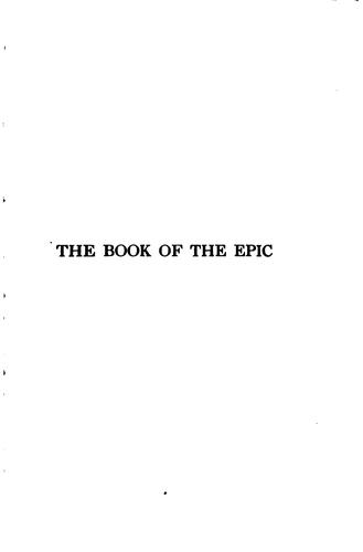 Download The book of the epic