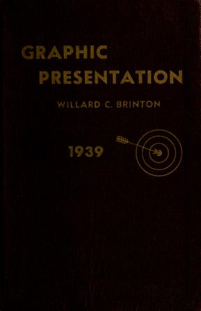 Cover of: Graphic presentation. by Willard Cope Brinton
