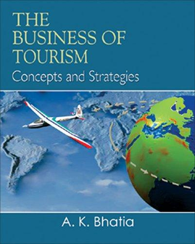 The Business of Tourism by A. K. Bhatia