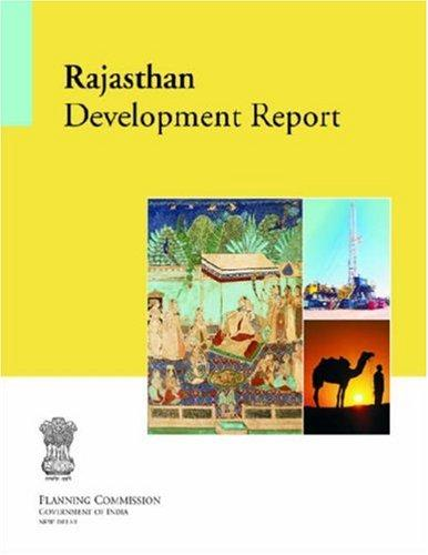 Rajasthan Development Report by Government of India Planning Commission
