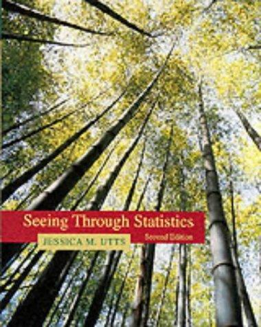 Seeing through statistics by Jessica M. Utts