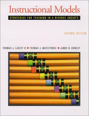 Image 0 of Instructional Models: Strategies for Teaching in a Diverse Society