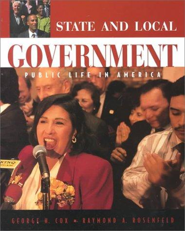 State and local government by George H. Cox