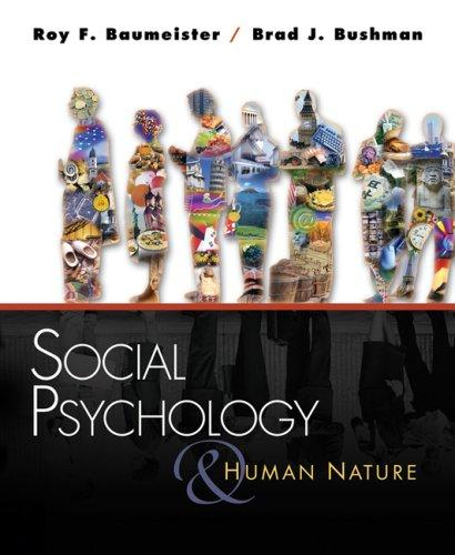 Social psychology and human nature by