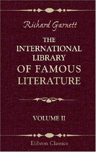 The International Library of Famous Literature