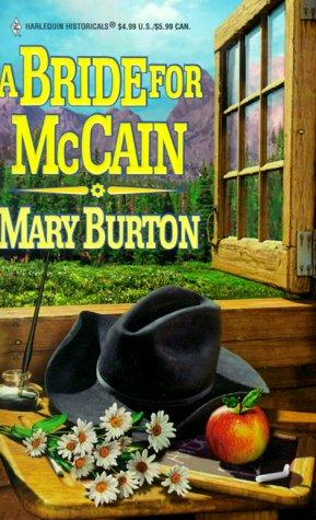 A Bride for McCain by Mary Burton