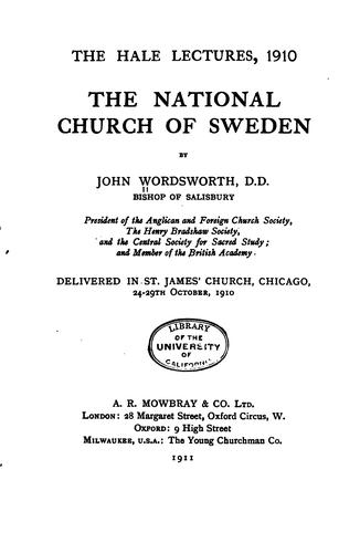 The national church of Sweden