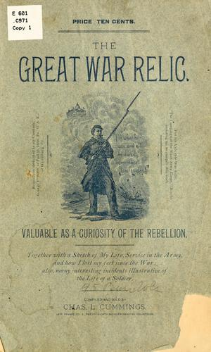 The great war relic …
